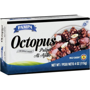 Pampa Octopus in Garlic Sauce