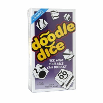 Doodle Dice Game, 1 ea