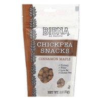 Biena, Llc CHICKPEA SNKS, CINN MAPLE, (Pack of 12)
