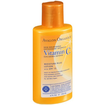 Avalon Organics Vitamin C Sun-Aging Defense Moisture Plus Lotion