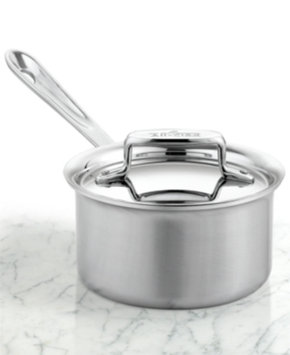 All Clad All-Clad d5 Brushed Stainless Steel 1.5-Quart Covered Saucepan