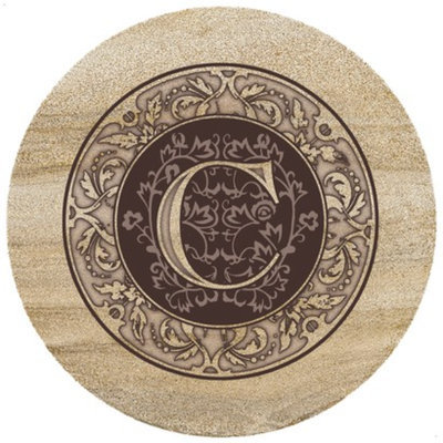 ThirtyStone Coasters Monogram C Trivet