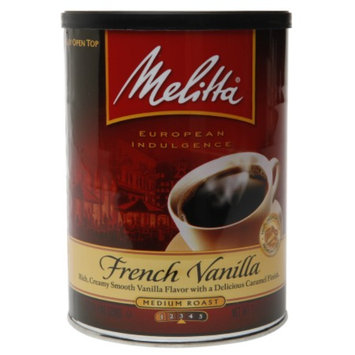 Melitta French Vanilla Medium Roast Coffee, 11 oz