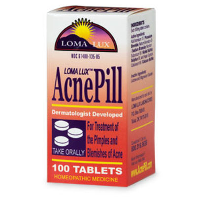 Loma Lux AcnePill - Homeopathic Medicine Tablets