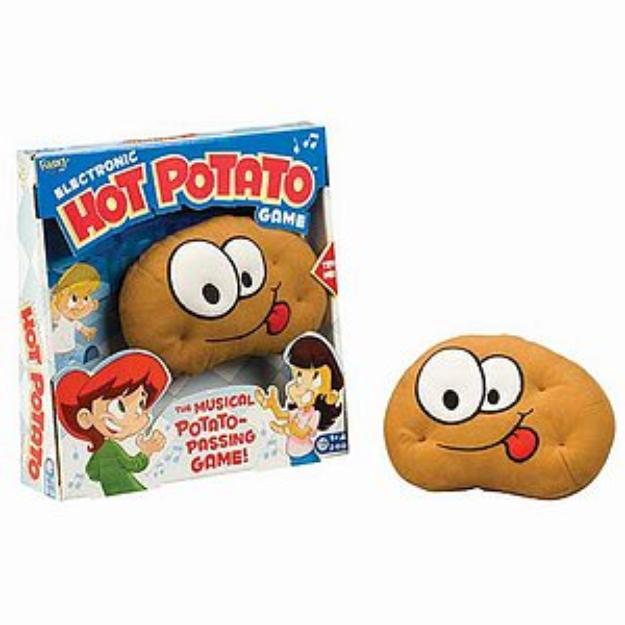 Fundex Games Hot Potato Ages 5+, 1 ea