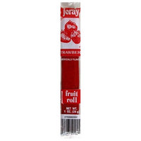 Joray Fruit Roll, Strawberry, 1-Ounce Units (Pack of 48)