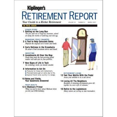 Kmart.com Kiplinger's Retirement Report Magazine - Kmart.com