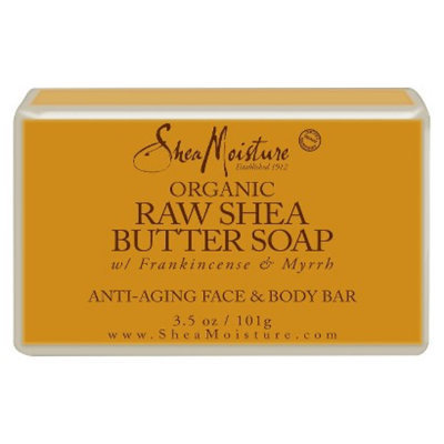 SheaMoisture Organic Raw Shea Butter Soap