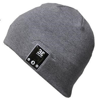 BE headwear Justright Bluetooth Beanie (Heather Gray)