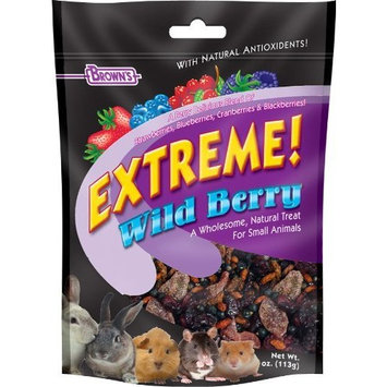Fm Browns Sons Inc F.M. Brown's Extreme Wild Berry Small Animal Treats, 3-Ounce