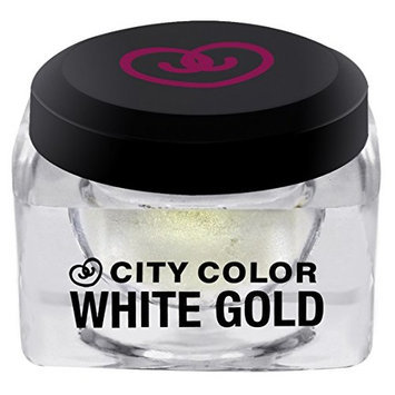 City Color Cosmetics White Gold Shadow & Highlight Mousse