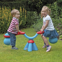 National Sporting Goods Spiro Bouncer Seesaw - Blue /Red