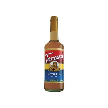 Torani Butter Rum 750 mL (pack of three)
