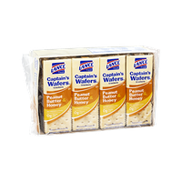 Lance Captain's Wafers Peanut Butter & Honey Crackers - 8 CT