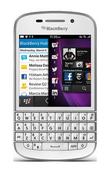 J.c. Hermans Floral Distributors, Inc. BLACKBERRY Q10 UNLOCKED OS 10 PHONE WHITE