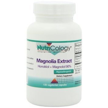 Nutricology Magnolia Extract Capsules, 120 Count