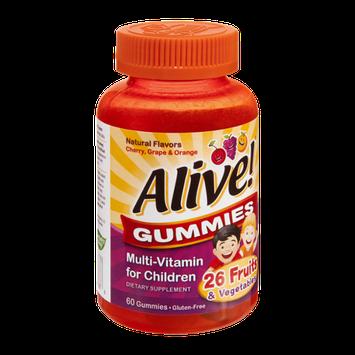 Nature's Way Alive! Gummies Multi-Vitamin for Children - 60 CT