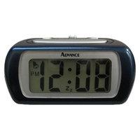 Geneva Platinum Geneva LCD Alarm Clock - Blue (0.6