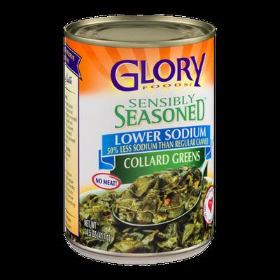 Glory Foods Sensibly Seasoned Collard Greens Lower Sodium