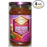 Pataks Biryani Curry Paste 10 Oz (Pack of 4)