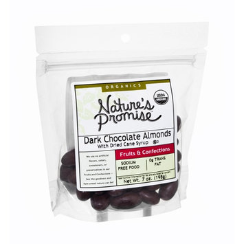 Nature's Promise Organics Fruits & Confections Dark Chocolate Almonds