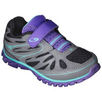 Toddler Girl's C9 by Champion Endure Athletic Shoes - Black/Teal 5