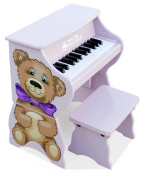 Schoenhut 25 Key Teddy Bear w/ Bench