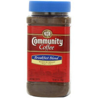 Community Coffee Breakfast Blend Instant Coffee, 7-Ounce Jars (Pack of 4)