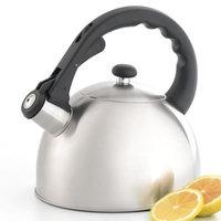 Creative Home Satin Splendor 2.8 qt. Whistling Tea Kettle