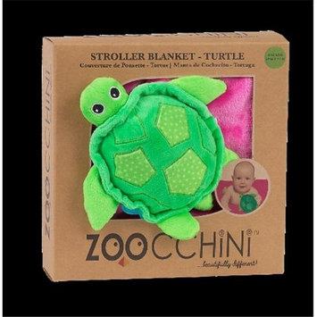 Zoocchini 14004 Baby Buddy Blanket with Turtle Pink
