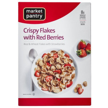 market pantry Market Pantry Crispy Flakes with Red Berries Cereal 12 oz