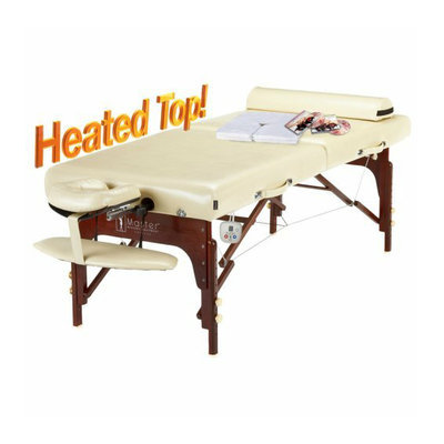 Master Massage Saxon 30-inch Portable Massage Table Thermo Top LX