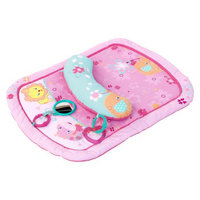 Bright Starts Pretty in Pink Little Blooms Prop & Play Mat