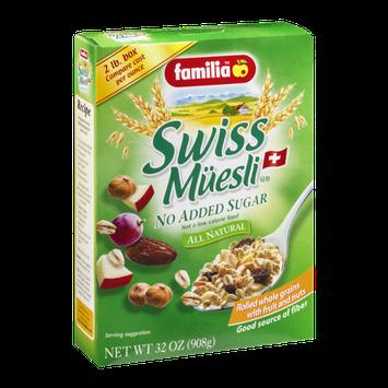 Familia Swiss Muesli No Sugar Added