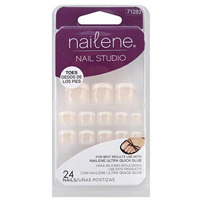 Nailene Nail Studio Nails, Toes, 24 ea
