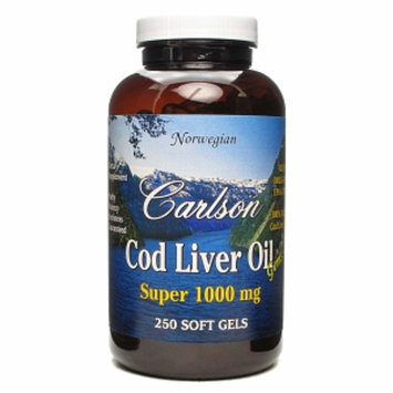 Carlson Cod Liver Oil Super 1000mg