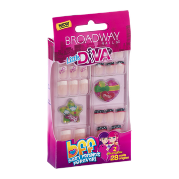 Broadway Nails Little Diva Bff - 28 CT