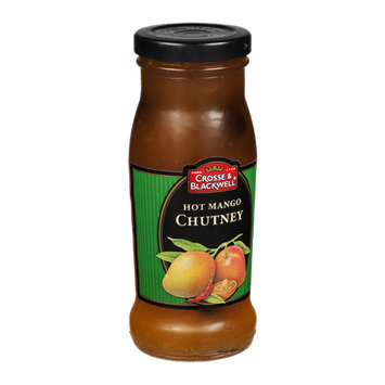 Crosse & Blackwell Hot Mango Chutney