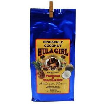 Hula Girl Pineapple Coconut Pancake & Waffle Mix