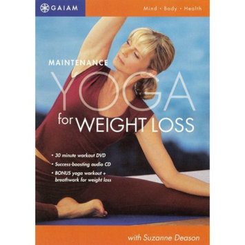 Koch Entertainment Maintenance Yoga for Weight Loss [CD/DVD] (new)