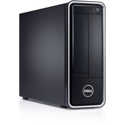 Dell Black Inspiron i660s-4615BK Desktop PC with Intel Pentium G645 Processor, 4GB Memory, 1TB Hard Drive and Windows 8 (Monitor Not Included)