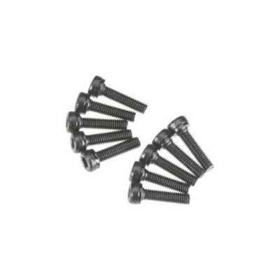Axial Racing AXA086 Cap Head M3x12mm Black Oxide (10)