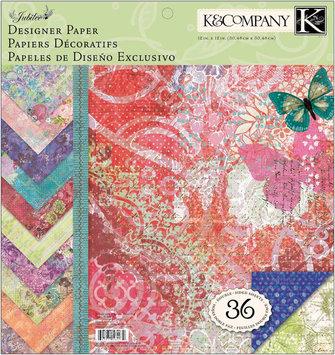 K & Company Jubilee Designer Paper Pad, 12