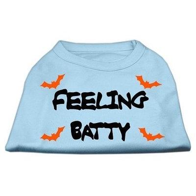 Mirage Pet Products 511305 XXXLBBL Feeling Batty Screen Print Shirts Baby Blue XXXL 20