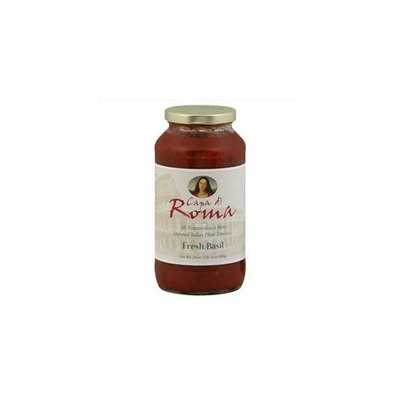 Capa Di Roma Sauce Sauce Fr Bas All Ntrl 24 OZ -Pack of 6