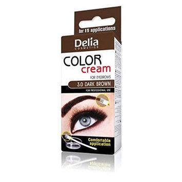 Delia Eyebrow Colour Cream Brown - 1 oZ