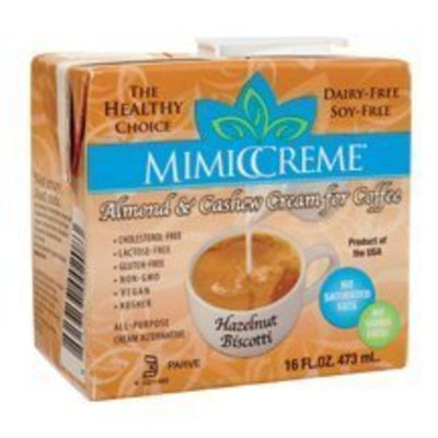 Mimiccreame, Coffee Creamer Hzlnt, 16 FO (Pack of 12)