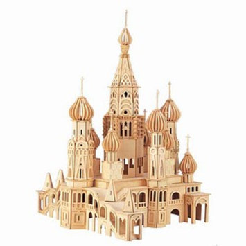 Puzzled St. Petersburg Church Wooden Puzzle Ages 12 and up