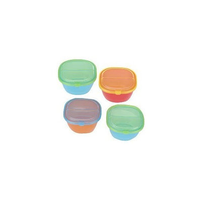Unknown Especially for Baby 4-Pack BPA Free Snack Cup with Lids