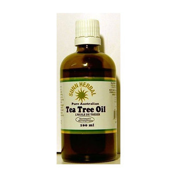 Sunn Herbal Tea Tree Oil - Pure Australian Oil - Antiseptic, 100ml